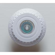 Гипсовый светильник SvDecor SV 7090 белый ф135 мм