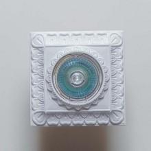 Гипсовый светильник SvDecor SV 7091 белый ф91 мм