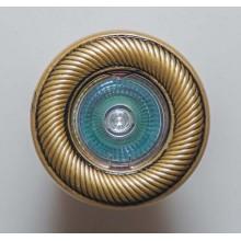 Гипсовый светильник SvDecor SV 7123 AB/L бронза ф90 мм
