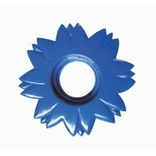 Гипсовый светильник SvDecor SV 7513 фиолетовый ф125 мм