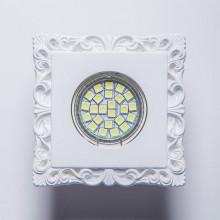 Гипсовый светильник SvDecor SV 7130 белый 100*100 мм