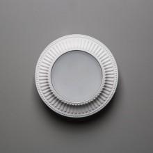 Гипсовый светильник SvDecor SV 7606 белый ф130 мм GX53