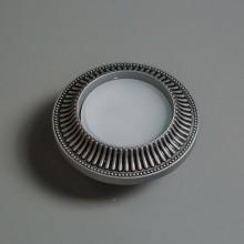 Гипсовый светильник SvDecor SV 7620 серебро ф130 мм GX53