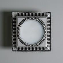 Гипсовый светильник SvDecor SV 7622 серебро 130*130 мм GX53