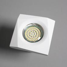 Гипсовый светильник SvDecor SV 7152 белый 89*89 мм