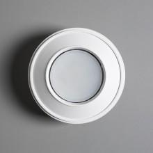 Гипсовый светильник SvDecor SV 7619 белый ф140 мм GX53
