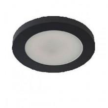 Подсветка светодиодная накладная Светкомплект 1082TR 3W черный 4500K ф60мм 240Lm