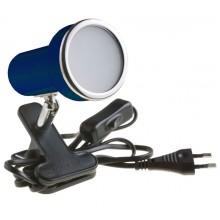 Подсветка светодиодная на прищепке Светкомплект СК-E50/N BL 6W 230V 600Lm 4000K синий H120 L120