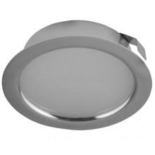 Мебельный светодиодный светильник Светкомплект СК50М-4-4К 220V 4W 4000K хром ф72мм