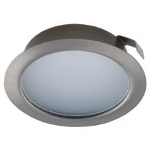Мебельный светодиодный светильник Светкомплект СК50М-4-4К 220V 4W 4000K SN ф72мм
