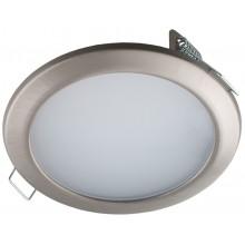 Встраиваемый светодиодный светильник Светкомплект СК 80-6 SN 6W 4000K сатин-никель ф108мм 550Lm