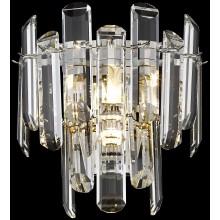Бра хрустальное Wertmark WE107.02.101 Lazzara E14 40 Вт никель, прозрачный