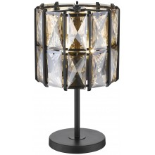 Настольная лампа Wertmark WE148.04.024 Karlin E14 40 Вт черный, янтарный