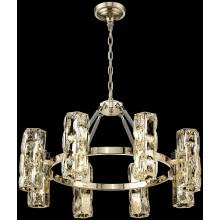 Подвесная люстра Wertmark WE156.16.303 Primo G4 LED 80 Вт золото, прозрачный