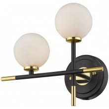 Бра Wertmark WE238.02.301 Brando G4 LED 10 Вт черный, золото