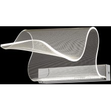 Настенный светодиодный светильник Wertmark WE451.01.101 Hanna LED 10 Вт 3000K хром, прозрачный