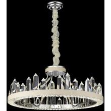 Подвесная светодиодная люстра Wertmark WE456.08.103 Leona LED 120 Вт 4000K хром, белый