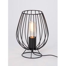 Настольная лампа Vitaluce V4296-1/1L черный матовый