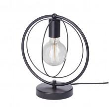 Настольная лампа лофт Vitaluce V4328-1/1L чёрный матовый