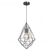 Подвесной светильник Vitaluce V4731-1/1S, 1хE27 макс. 60Вт черный