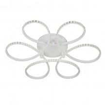 Люстра светодиодная Vitaluce V4630-0/1S LED 122Вт 3900-4200K белый матовый