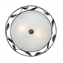 Светильник настенный Vitaluce V6858/2A, 2хE27 макс. 60Вт черный с золотом