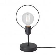 Настольная лампа Vitaluce V4435-1/1L, 1хE27 макс. 60Вт черный матовый