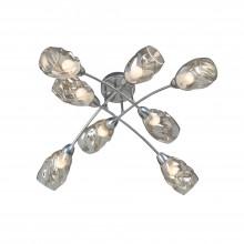Люстра потолочная Vitaluce V4925-9/8PL 8xE27 40Вт хром