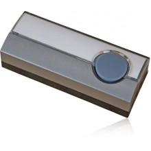 Кнопка звонка Zamel герметичная IP44 PDJ-213-SZR 220V серая