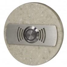 Кнопка звонка Zamel декоративная круглая PDK 252 скрытая установка