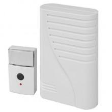 Звонок беспроводной Zamel Молик 1 мелодия с кнопкой радиус 50 м ST-66 3x battery 1,5V