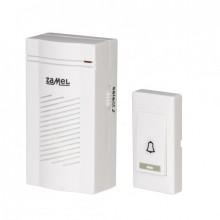 Звонок беспроводной Zamel CLASSIC радиус 100м (питание от батареек) ST 901
